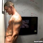 Ungloryhole-Straight-Jock-Gets-Cock-Sucked-09-150x150 Straight Muscle Jock Gets Tricked At The Gloryhole and Cums