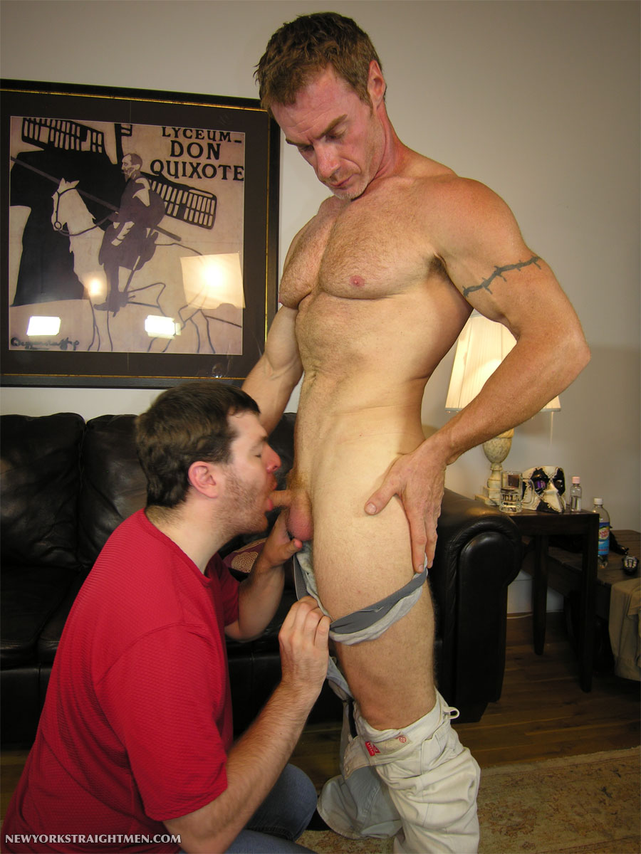 NY-Straight-Men-New-York-Straight-Men-Jamie-Paul-03 Amateur Straight Hairy Muscular Ginger Daddy Gets his Cock Serviced