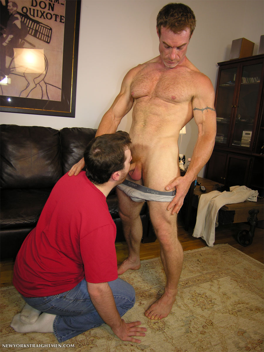 NY-Straight-Men-New-York-Straight-Men-Jamie-Paul-05 Amateur Straight Hairy Muscular Ginger Daddy Gets his Cock Serviced