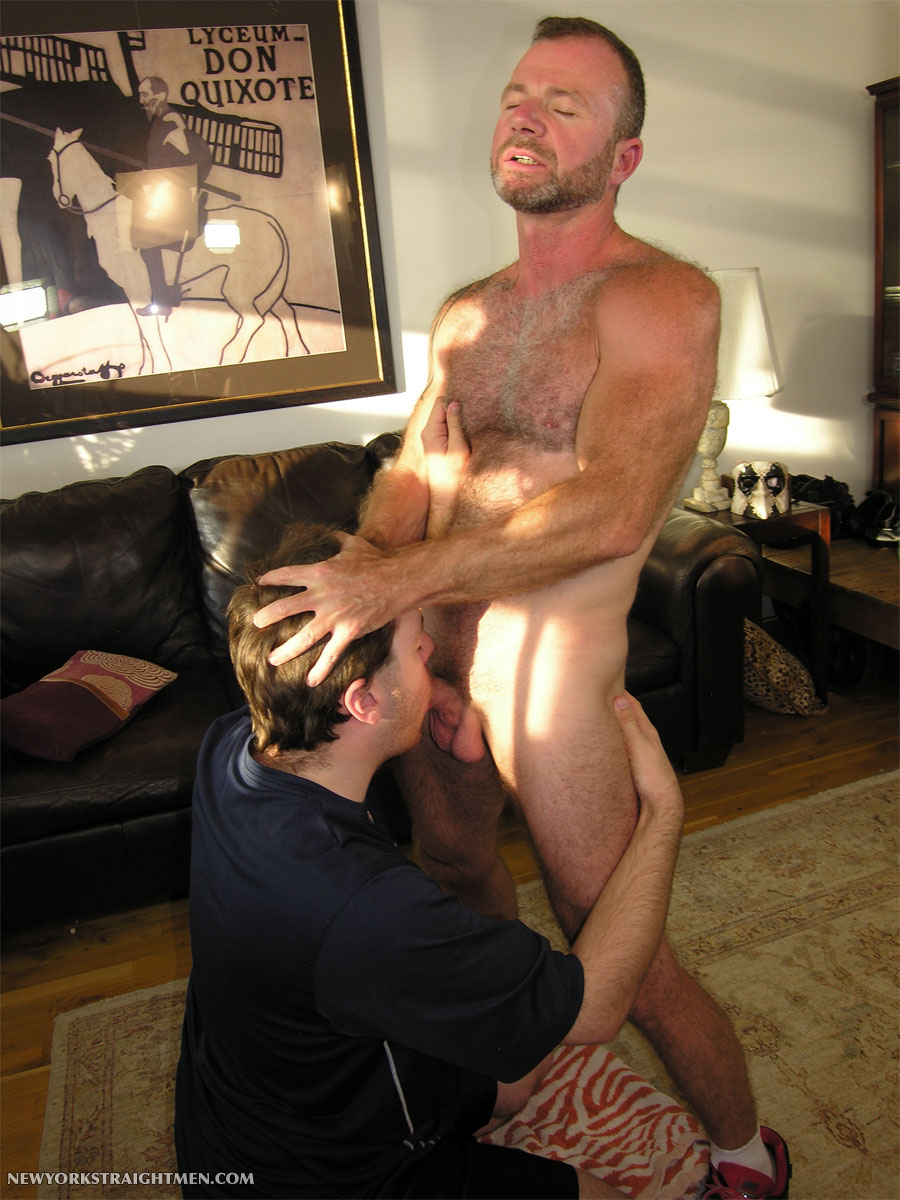 new-york-straight-men-michael-straight-cock-sucking-11 Divorced Straight Hairy Airforce Pilot Daddy Lets Gay Dude Suck His Cock