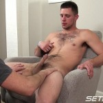 Seth-Chase-Walker-Michaels-Dinner-is-Served-09-150x150 Hairy Young Straight Amateur Guy Gets a Blowjob from a Daddy