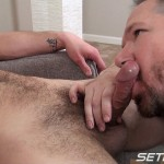 Seth-Chase-Walker-Michaels-Dinner-is-Served-19-150x150 Hairy Young Straight Amateur Guy Gets a Blowjob from a Daddy