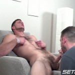Seth-Chase-Walker-Michaels-Dinner-is-Served-21-150x150 Hairy Young Straight Amateur Guy Gets a Blowjob from a Daddy
