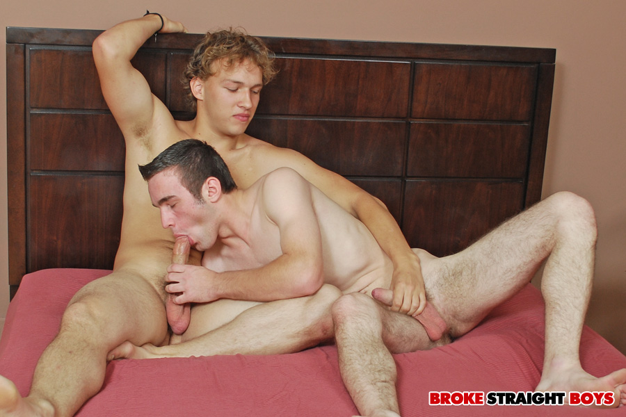BrokeStraightBoys Carson Hawk and Trey Evans 14 Straight Amateur Guys Sucking Each Others Cocks and Eating Ass