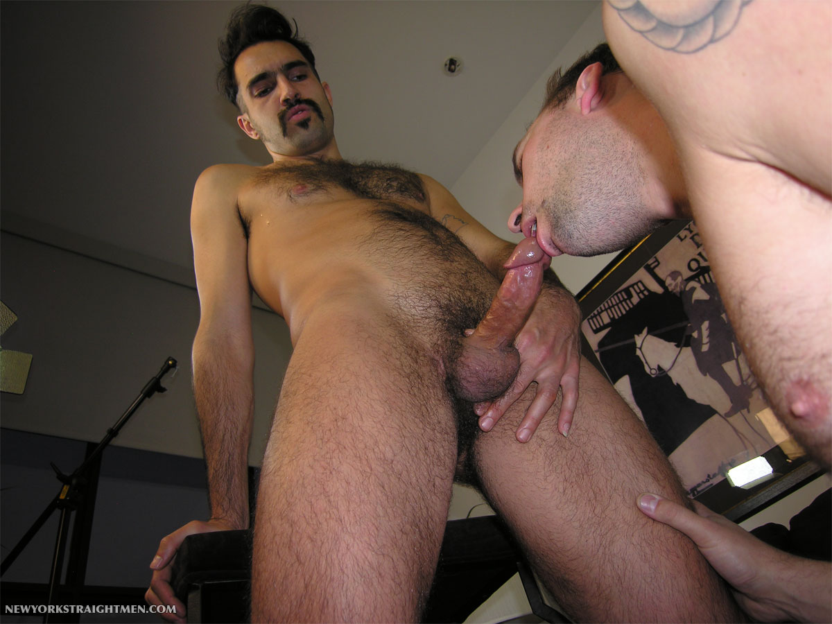 NewYorkStraightMen-Trevor-Straight-Cock-09 Amateur Hairy Straight Hipster Gets His Ass Rimmed and Cock Sucked
