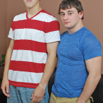 Broke Straight Boys Scott Harbor and Adam Baer straight cocksucking 01 150x150 Broke Straight Boys Sucking Their First Cock For Cash