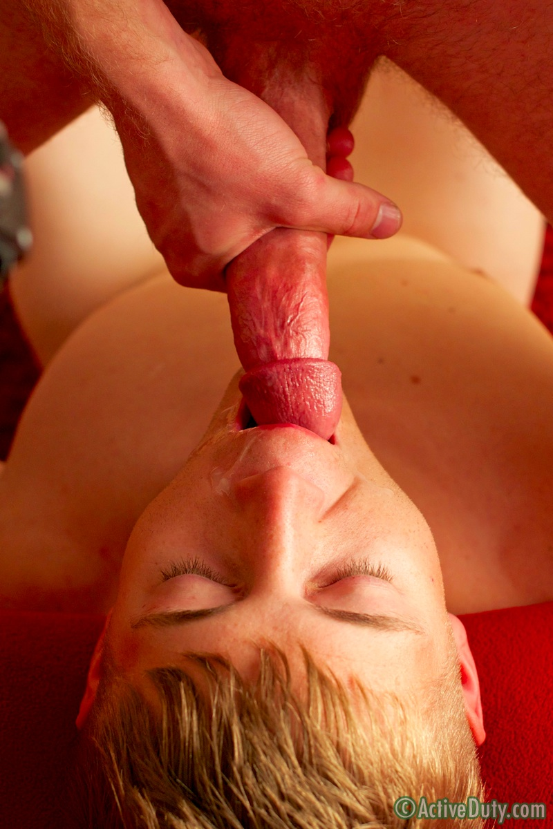 a guys first blowjob