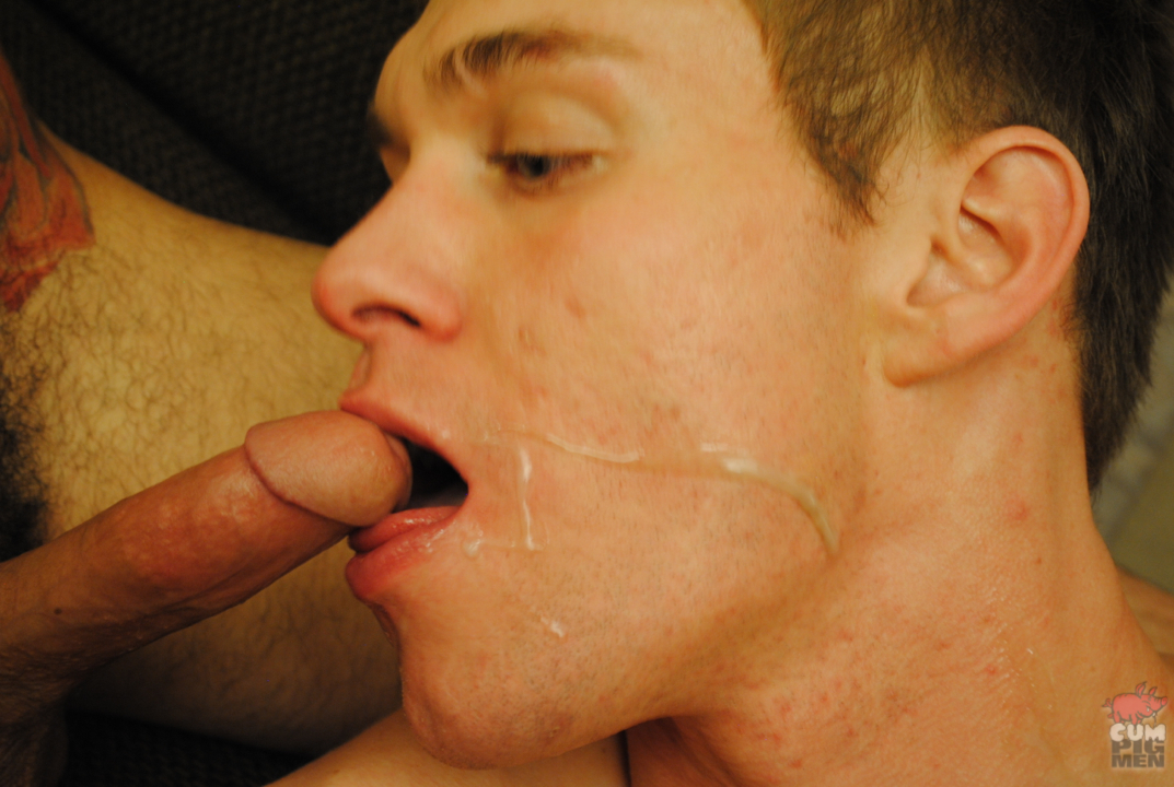 CumPigMen Archer Adams and Dani and Adam Moon Cock Sucking and Cum Eating Threeway 12 Cum EatingThree Way Anonymous Amateur Cheap Hotel Hookup