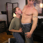 New York Straight Men Jamie and Trey Redhead Straight Guy Gets a Blowjob from A Gayguy Ginger Daddy 01 150x150 Amateur Straight Redhead Daddy Gets His Ginger Cock Worshipped