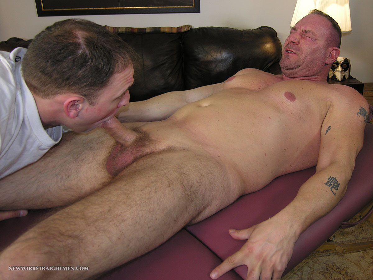 blowjob by gay dad