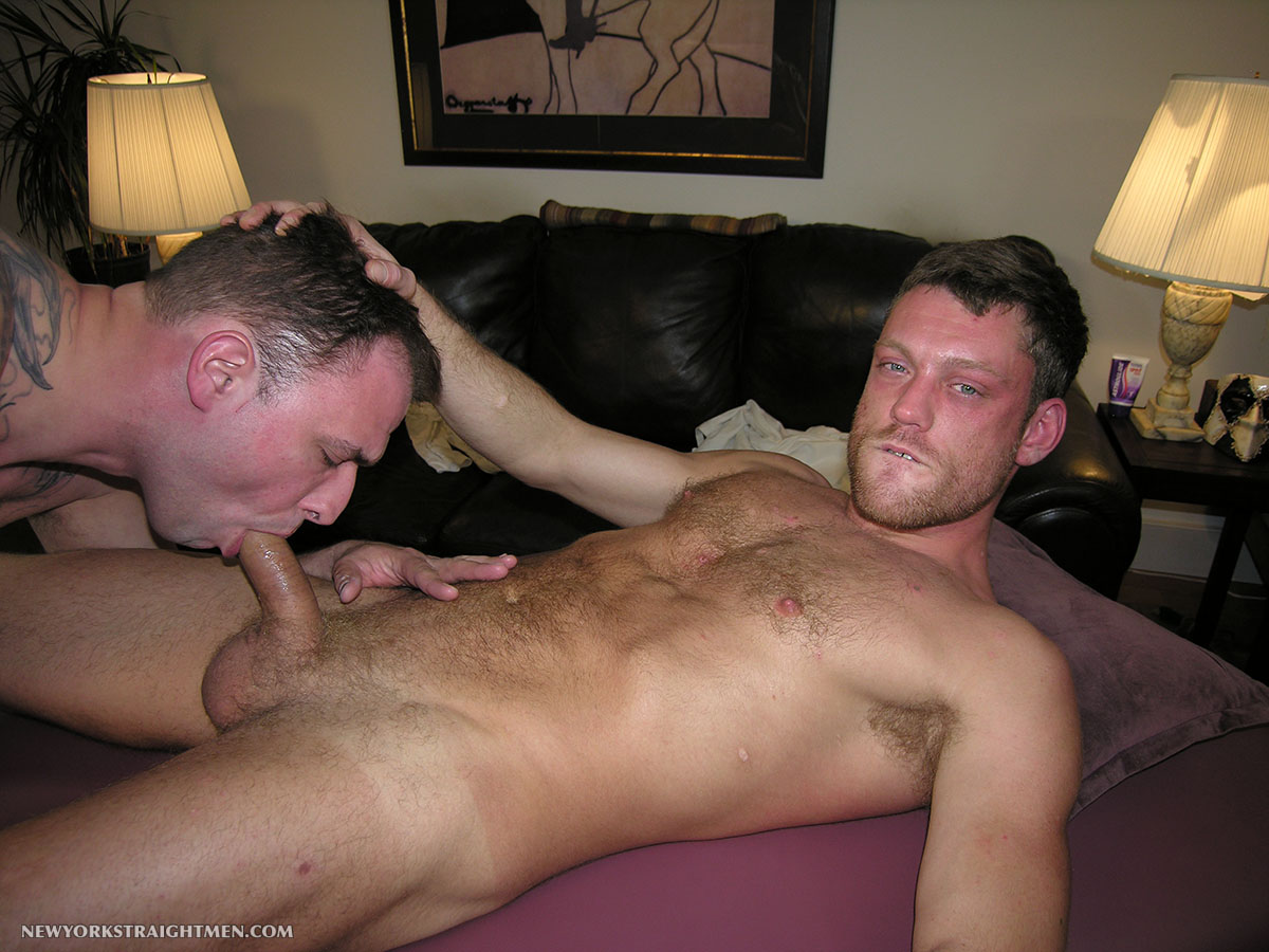 Straight guy suck cock movie gay tricking
