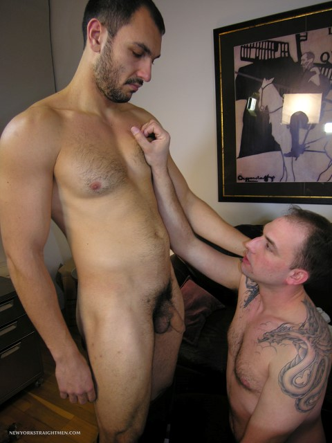 New-York-Straight-Men-Srdjan-hairy-Serbian-gets-his-cock-sucked-Amateur-Gay-Porn-03 Amateur Straight Hairy Uncut Serbian Gets Blown By A Guy