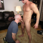 New York Straight Men Officer T and Sean Straight Guy Getting Cock Sucked By A Gay Guy Amateur Gay Porn 12 150x150 Straight New York City Cop Gets His First Blow Job From A Gay Guy