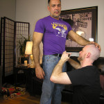 New York Straight Men Dale and Vincent Latino Daddy Thick Cock Sucking Amateur Gay Porn 01 150x150 Straight Latino Daddy With A Huge Thick Cock Gets Serviced By A Gay Guy