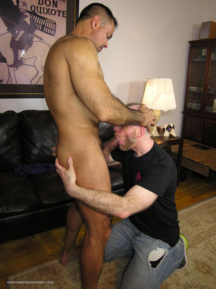 New York Straight Men Dale and Vincent Latino Daddy Thick Cock Sucking Amateur Gay Porn 05 Straight Latino Daddy With A Huge Thick Cock Gets Serviced By A Gay Guy
