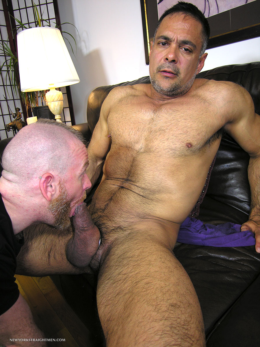 New York Straight Men Dale and Vincent Latino Daddy Thick Cock Sucking Amateur Gay Porn 08 Straight Latino Daddy With A Huge Thick Cock Gets Serviced By A Gay Guy