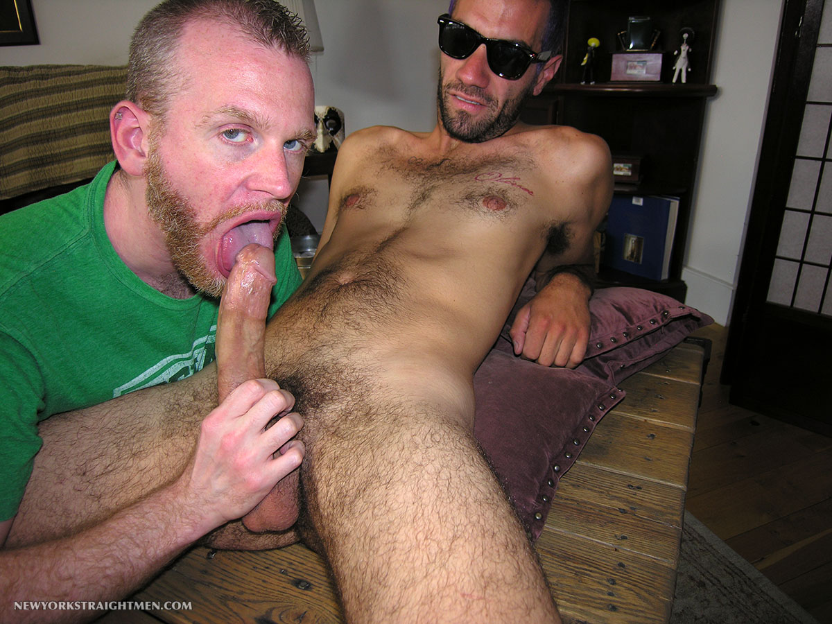 New-York-Straight-Men-Straight-Hipster-Gets-His-Cock-Sucked-Amateur-Gay-Porn-08 Straight NYC Hipster With Hairy Cock Gets His First Blow Job From A Guy