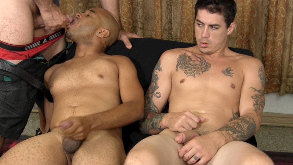 Straight Fraternity Franco Lance and Tommy Interracial Straight Cock Sucking Amateur Gay Porn 24 Two Amateur Straight Fraternity Brothers Shooting Cum With A Gay Guy