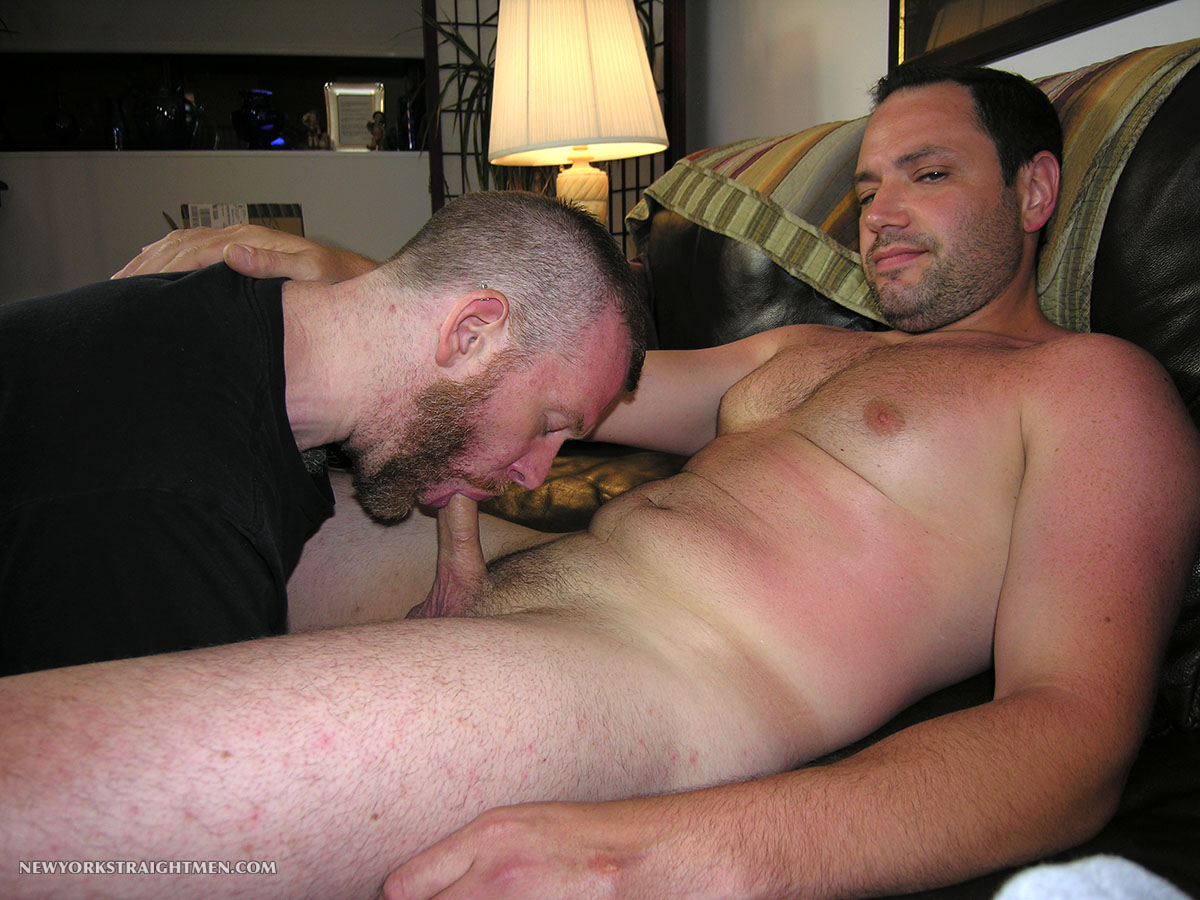 Giving straight guy blowjob no money no