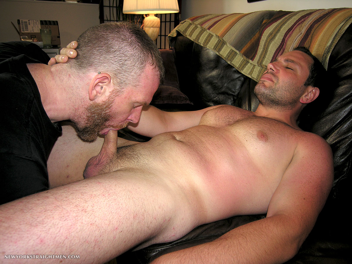 New York Straight Men Jack and Sean Straight Guy Getting Blowjob From Gay Guy Amateur Gay Porn 12 Bicurious Beefy NYC Guy Gets His First Blowjob From Another Guy