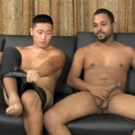 Straight Fraternity Aaron and Junior Straight Asian Sucks Big Cock Amateur Gay Porn 08 150x150 Hung Straight Asian Stud Gives His First Blowjob To Another Guy