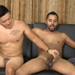 Straight Fraternity Aaron and Junior Straight Asian Sucks Big Cock Amateur Gay Porn 19 150x150 Hung Straight Asian Stud Gives His First Blowjob To Another Guy