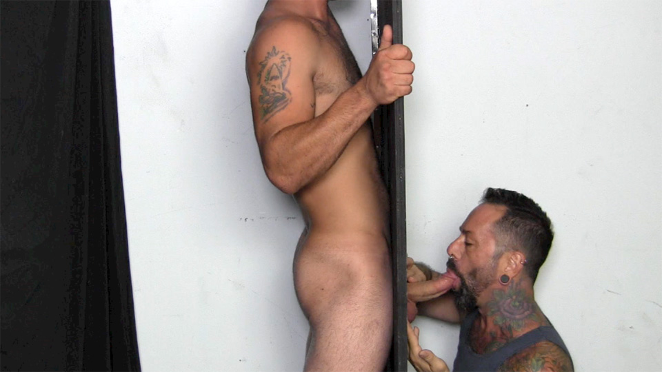 Man Visits Gloryhole To Be Blown