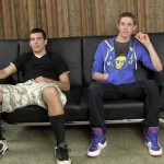 Straight Fraternity Jason and Scrappy Straight College Guys Sucking Cock Amateur Gay Porn 01 150x150 Straight College Guys Take Turns Sucking On Each Others Cocks