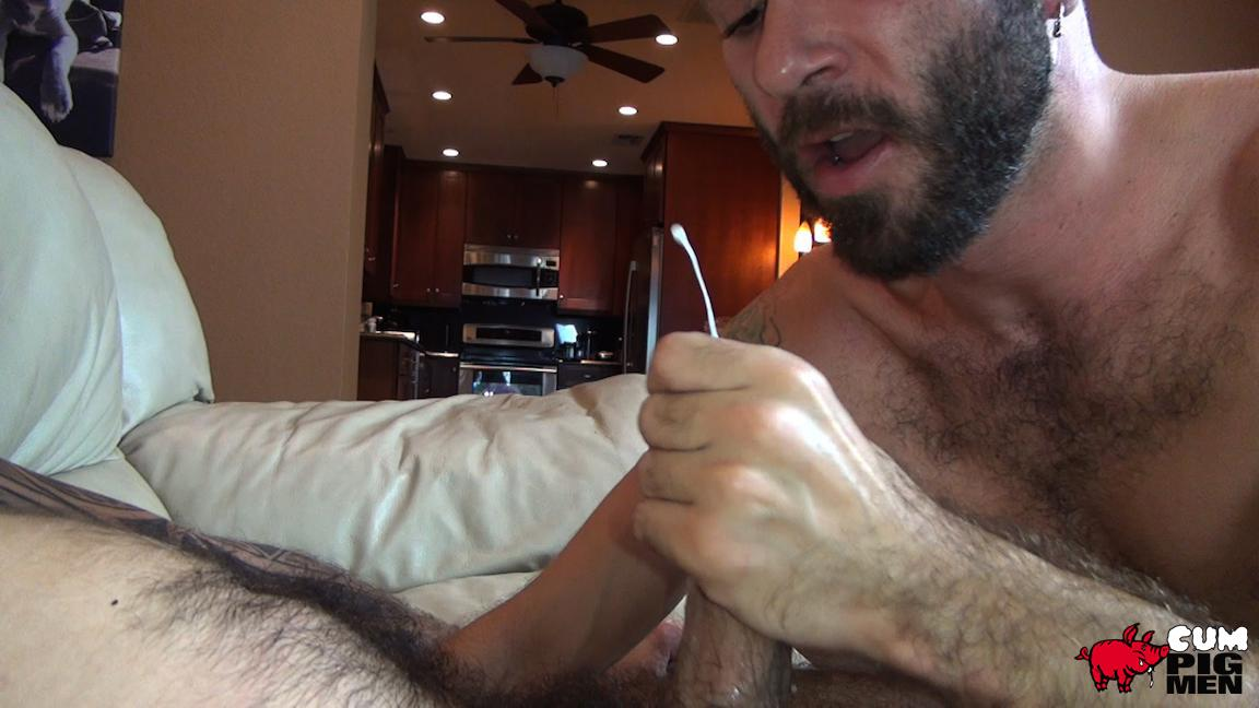 Cum Pig Men Ethan Palmer and Cam Christou Sucking Cock and Eating Cum Amateur Gay Porn 26 Sucking A Load Of Cum Out Of Cam Christou