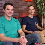 Broke Straight Boys Antonio Drake and Justin Riggs Beefy Straight Boy Gets Cock Sucked Amateur Gay Porn 01 150x150 Amateur Beefy Straight Boy Gets His First Cock Sucking From Another Dude