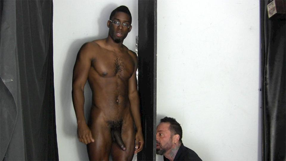 Straight-Fraternity-Tyler-Big-Black-Uncut-Cock-At-The-Gloryhole-Amateur-Gay-Porn-14 Young Black Muscle Stud Gets His Big Black Uncut Cock Sucked At The Gloryhole