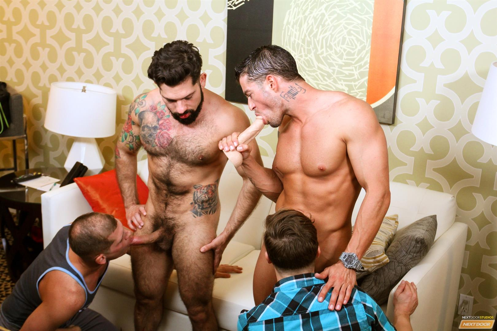 Cody Cummings and Tyler Morgan and Alessandro Del Torro Cock Sucking Lessons Amateur Gay Porn 11 Cody Cummings Gives The Boys Cock Sucking Lessons