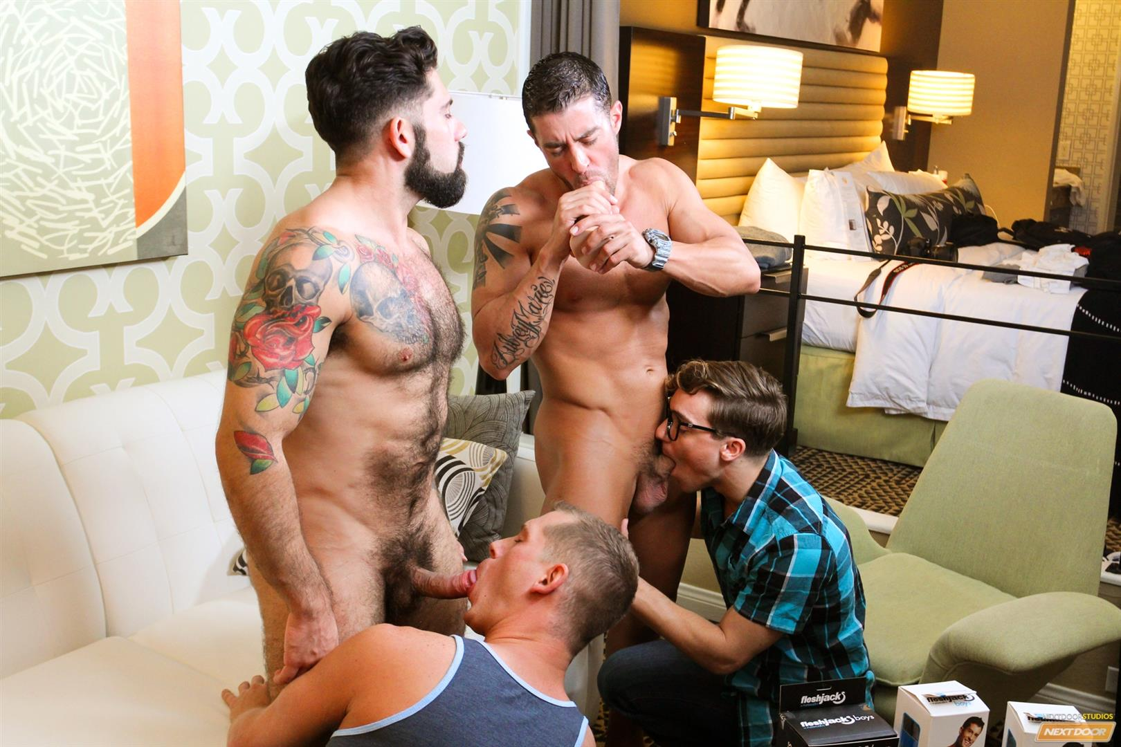 Cody Cummings and Tyler Morgan and Alessandro Del Torro Cock Sucking Lessons Amateur Gay Porn 12 Cody Cummings Gives The Boys Cock Sucking Lessons