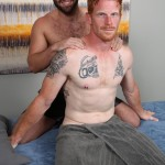 ChaosMen Noah and Aric Naked Redhead Gets Blowjob and Rimming Amateur Gay Porn 01 150x150 Straight Redhead Gets A Massage, Rimming and Blow Job From Another Guy