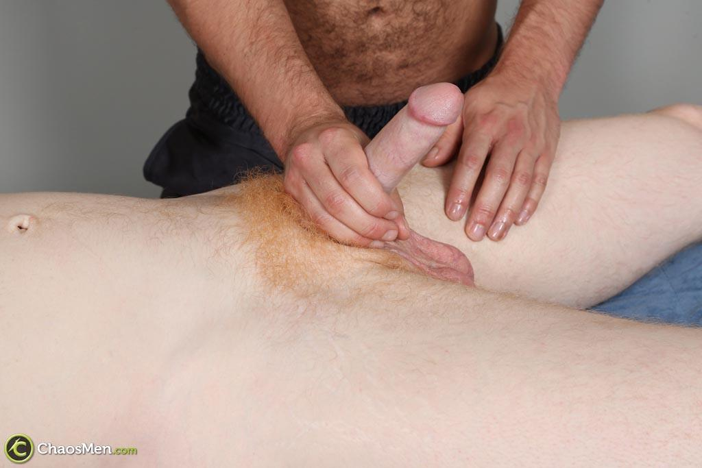 ChaosMen Noah and Aric Naked Redhead Gets Blowjob and Rimming Amateur Gay Porn 14 Straight Redhead Gets A Massage, Rimming and Blow Job From Another Guy