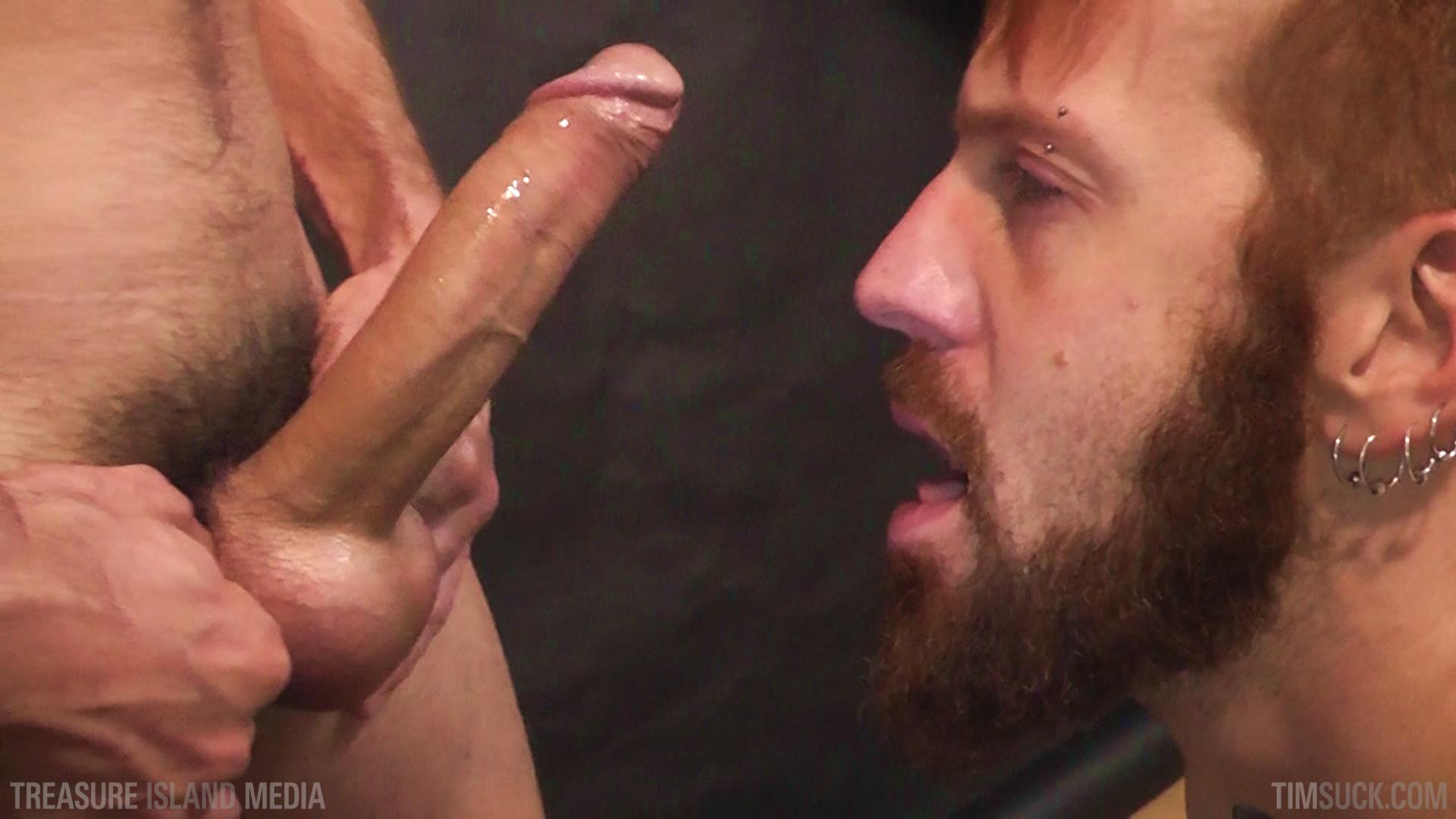 Treasure Island Media TimSuck Pete Summers and Dean Brody Sucking A Big Uncut Cock Amateur Gay Porn 47 Bearded Ginger Services A Big Uncut Cock And Eats The Cum
