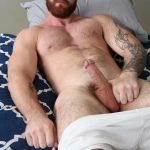 ChaosMen Casper and Lorenzo Hairy Muscle Beard Cock Sucked 05 150x150 Hairy Muscular Hunk Gets His Big Cock Sucked and Serviced