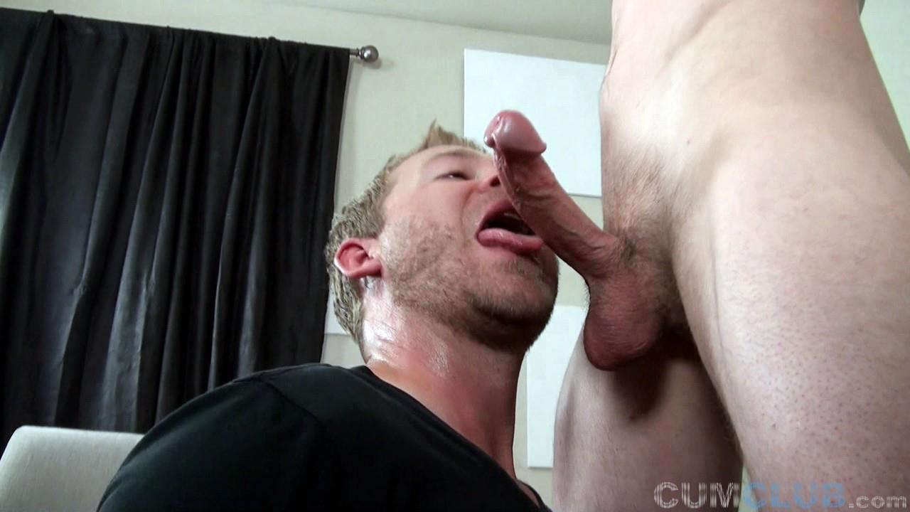 Cum-Club-Aaron-and-Alexander-Big-Cock-Ginger-Getting-Blowjob-35 Big Dick Ginger Gets A Blow Job And Gives A Huge Cum Facial