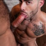 Raging-Stallion-Drake-Masters-and-Carlos-Lindo-Hairy-Muscle-Guy-With-Big-Dick-Blowjob-07-150x150 Hairy Muscle Hunk Drake Masters Gets Rimmed And Sucked Off By The Delivery Driver