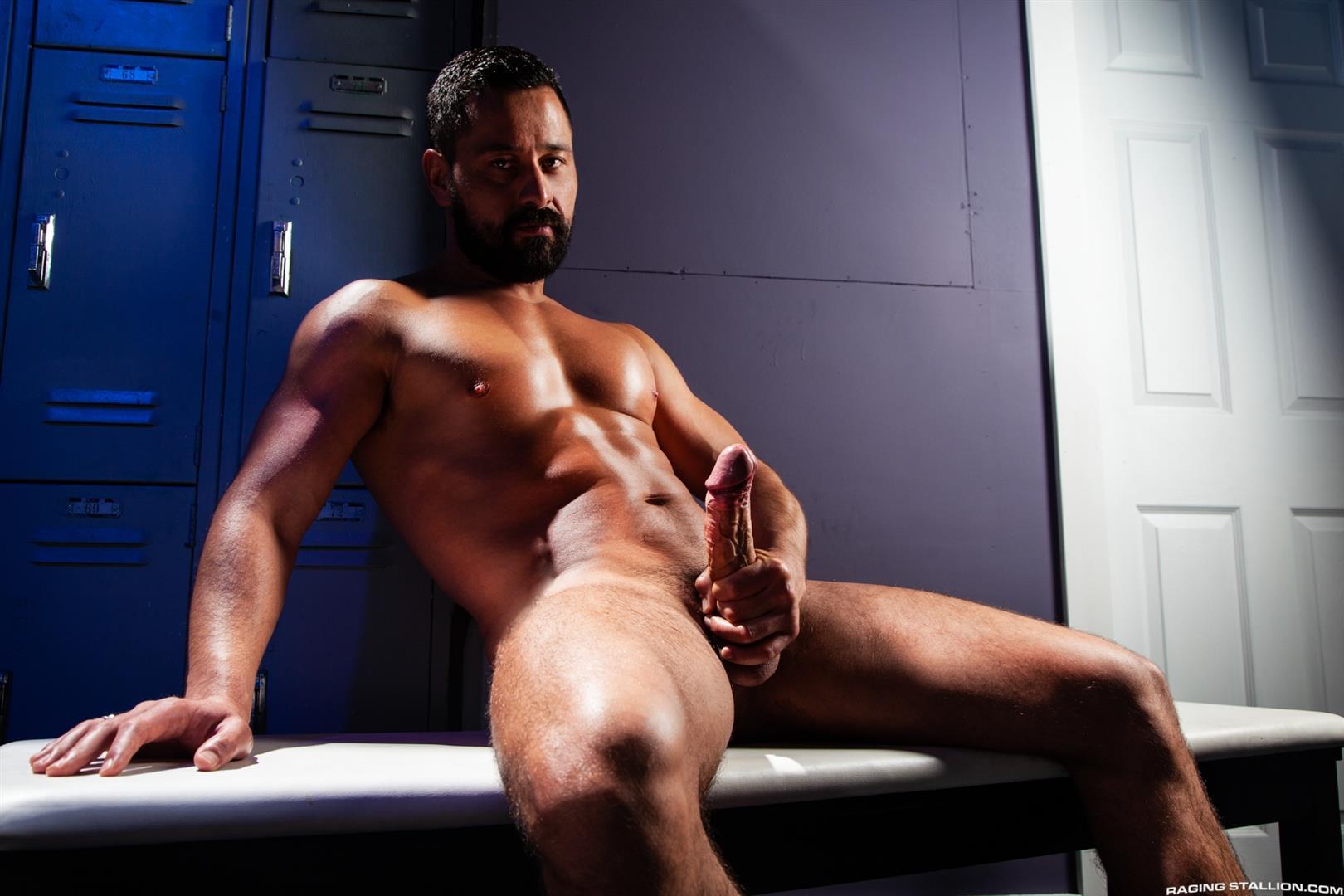 Raging-Stallion-Pheonix-Fellington-and-Cristian-Sam-Big-Black-Cocksucking-Video-06 Getting My Big Black Cock Sucked In The DJ Booth